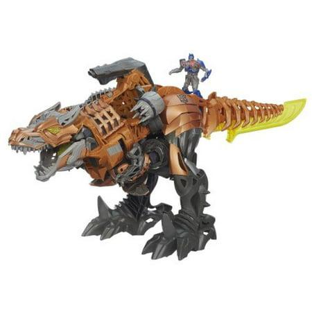 Transformers Age of Extinction Stomp & Chomp Grimlock (Did Grimlock Die In Fall Of Cybertron)
