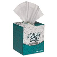 Angel Soft Premium Facial Tissue, 96 Sheets/Box, 36 Cube Boxes (GPC46580CT)