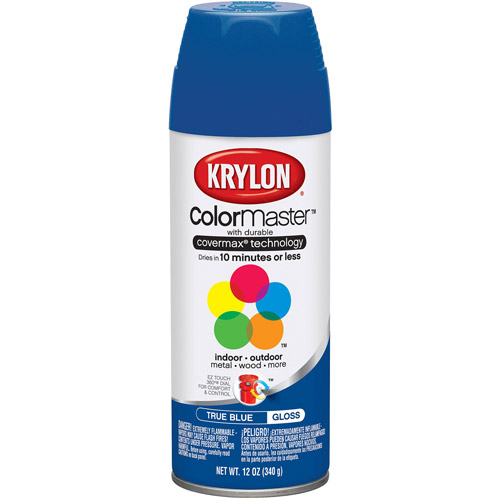 Krylon Colormaster True Blue