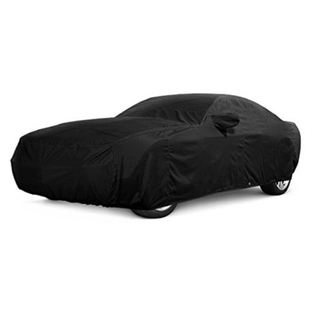 CarsCover 100% Sunblock Custom Fit 2003-2018 GMC Sierra 1500 2500 3500 Crew Cab 6.5ft Short Bed Truck Car Cover Xtrashield Black