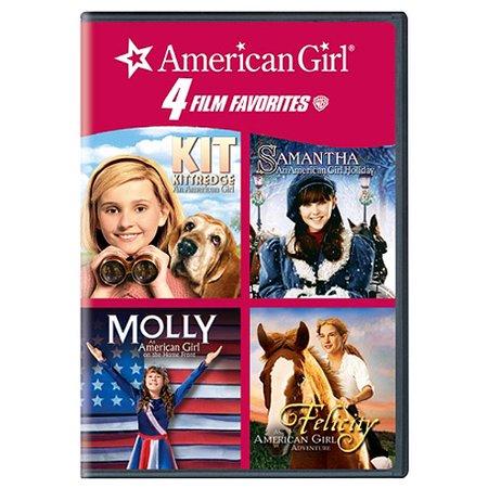 4 Kid Favorites  American Girl   Kit Kittredge   Molly   Samantha   Felicity  Full Frame  Widescreen
