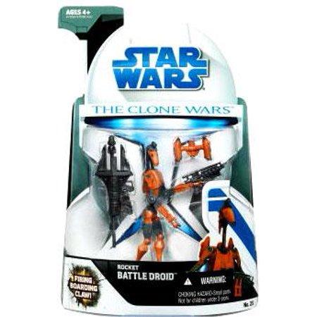 Star Wars Clone Wars 2008 Rocket Battle Droid Action - Battle Droid Factory