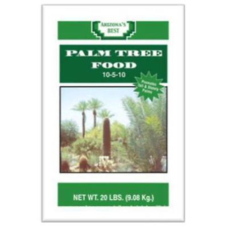 Arizona's Best 20 LB 10-5-10 Palm Tree Food Effectively Fertilizes Out Only