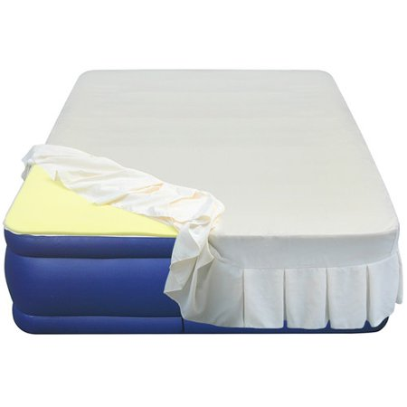Foam Mattress Bed Pad - Altimair Air Beds & Mattresses Essentials Airbed High 3/4'' Density Memory Foam Mattress Topper