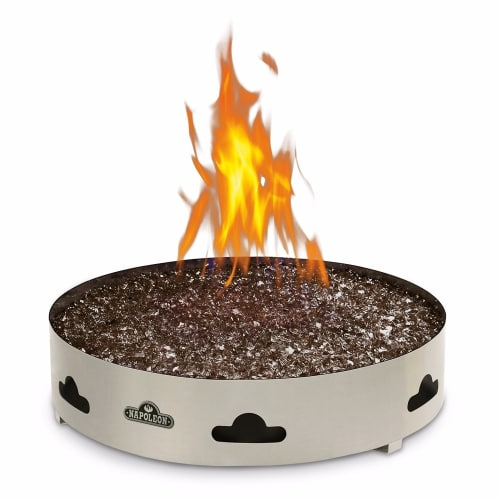 Napoleon GPFGN-2 Patioflame 60000 BTU 20 Inch Diameter Natural Gas Outdoor Fireplace by Napoleon