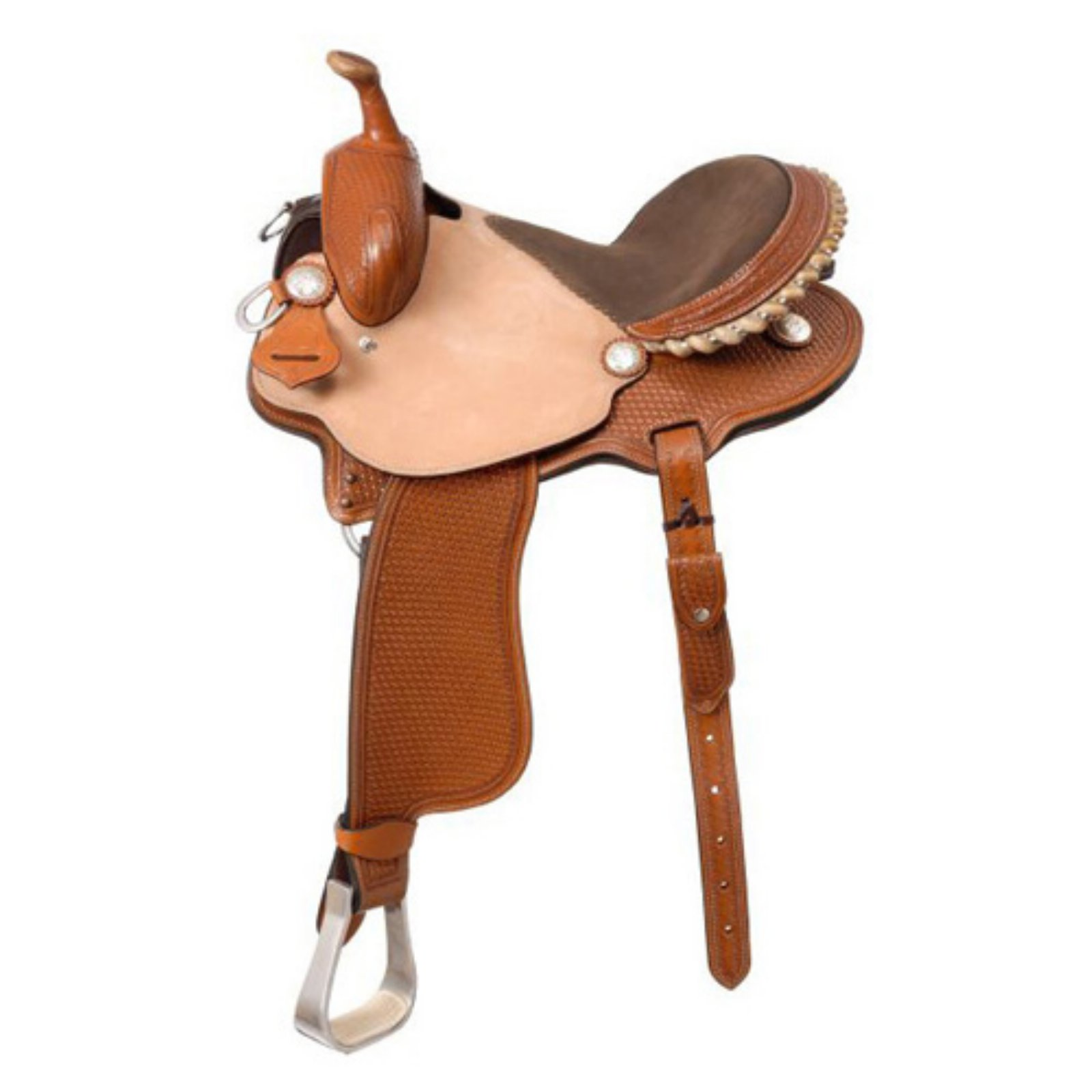 Silver Royal Dallas Barrel Saddle