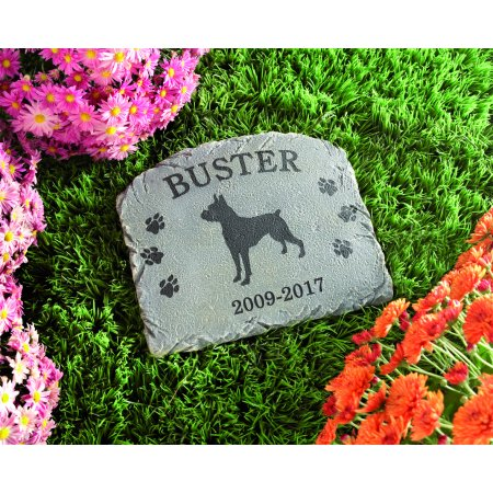 Personalized Dog Memorial Stone Walmart Com