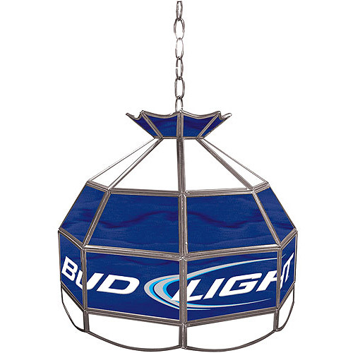 Bud Light Stained Glass Tiffany Lamp