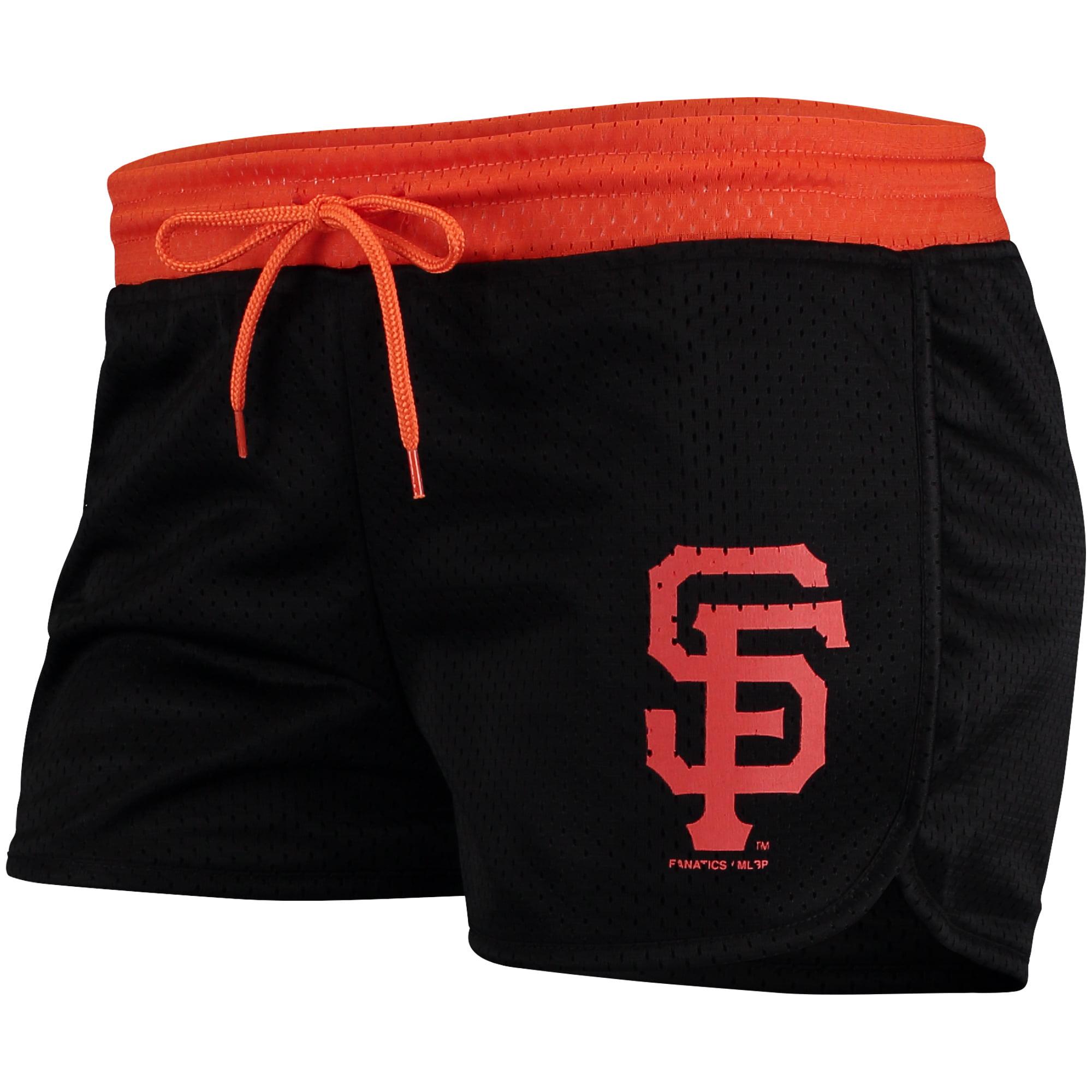 San Francisco Giants Fanatics Branded Women's Overtime Run Short - Black