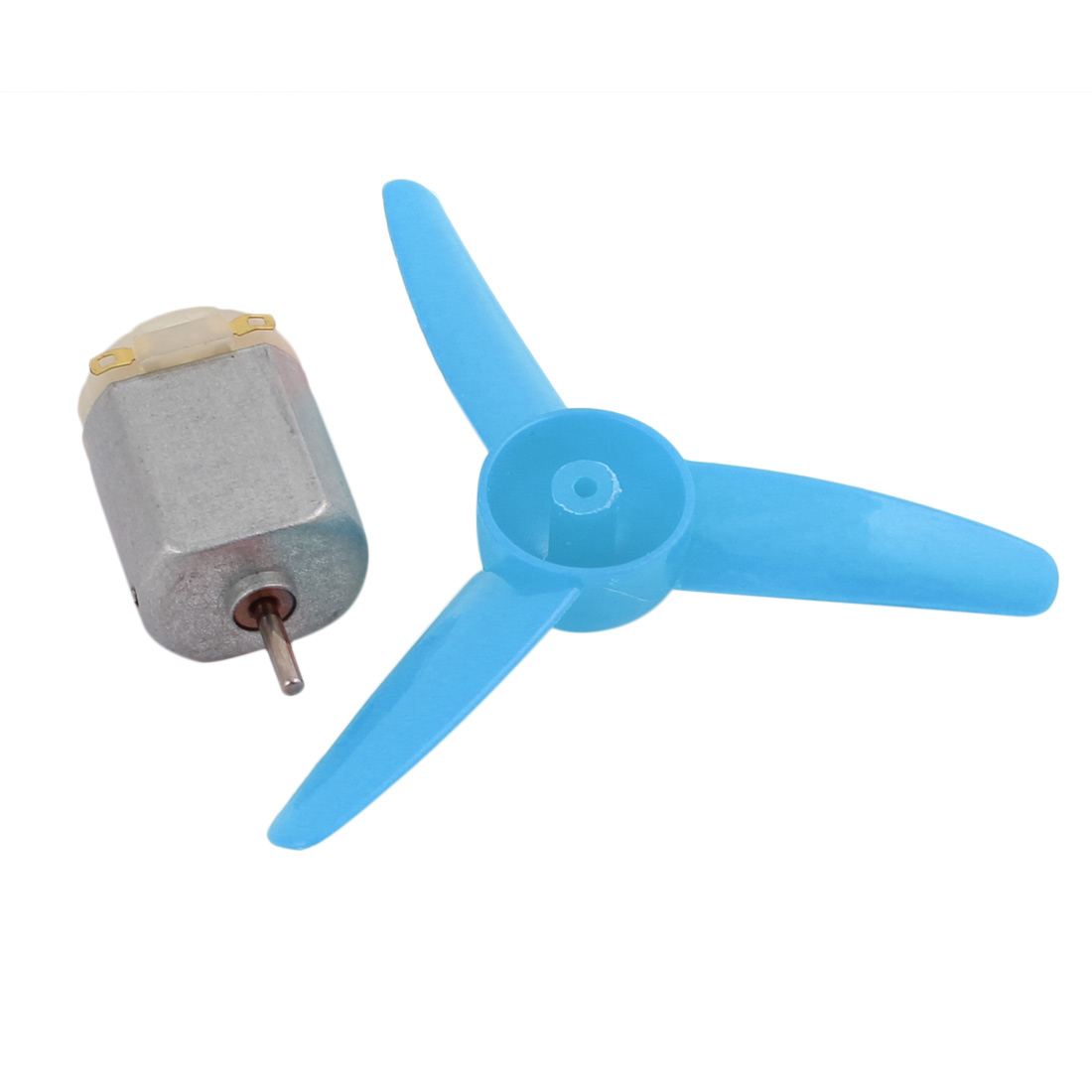 F130S DC 12V 20000RPM Mini Electric Motor w Blue Propeller for RC Model - image 2 de 5