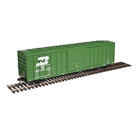 Atlas Ho Scale Fmc 5077 Single Door Boxcar Burlington Northern Bn Green  250052
