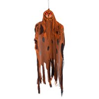 Gemmy Industries Halloween Brown Lighted Pumpkin Ghoul Decoration Deals
