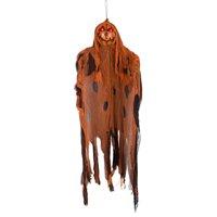 Gemmy Industries Halloween Brown Lighted Pumpkin Ghoul Decoration