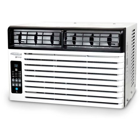 - SoleusAir Energy Star 8,000 BTU 115V Window-Mounted Air Conditioner with LCD Remote Control