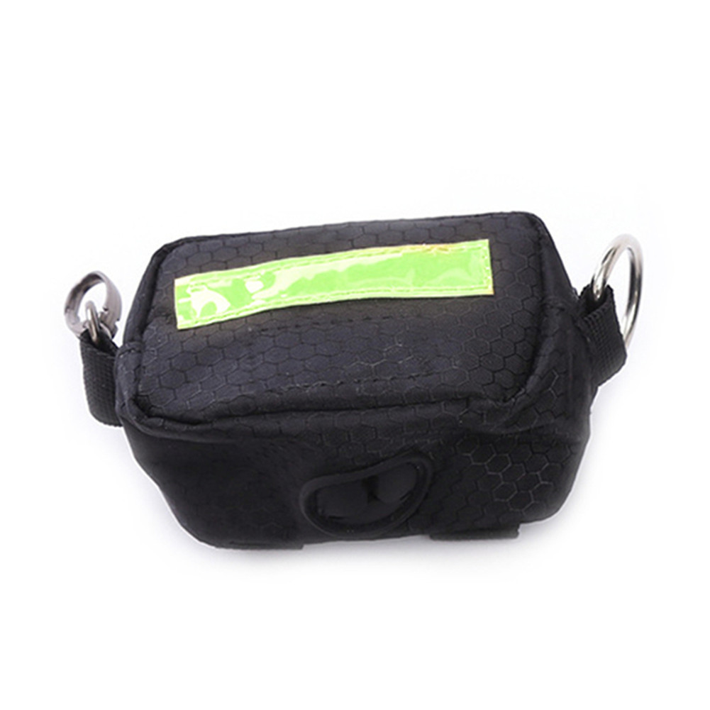 Made from recycled plastic. Unisex pouch bag with snap mouth opening