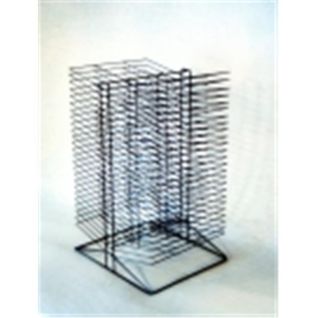 Sax Double Sided Wire Drying Rack - 17 x 20 x 30 in. - Black