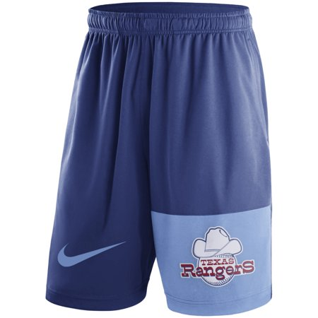 Texas Rangers Nike Cooperstown Collection Dry Fly Shorts - Royal (Nike Texas Longhorns Shorts)