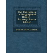 Philippines : A Geographical Reader