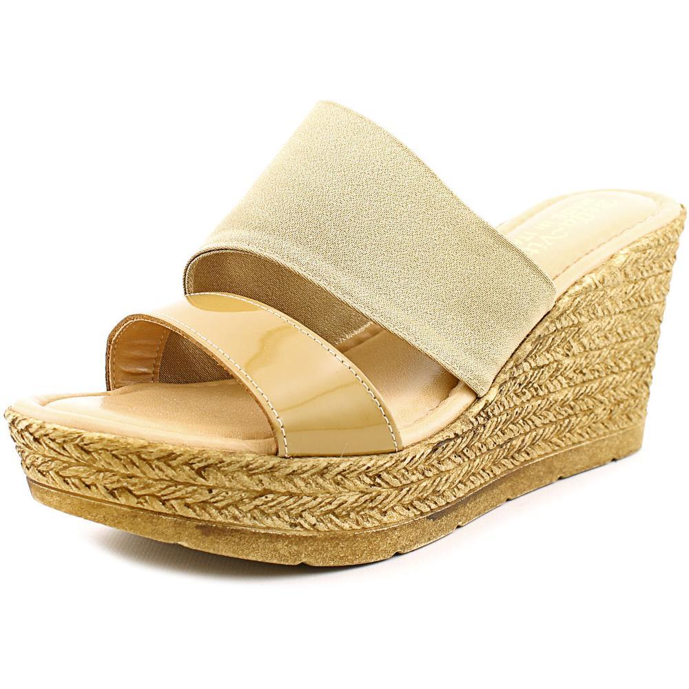 Bella Vita Formia W Open Toe Leather Wedge Sandal by Bella Vita
