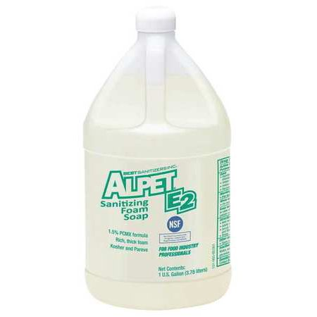 BEST SANITIZERS, INC. Foam Hand Soap,1 gal.,Unscented,PK4