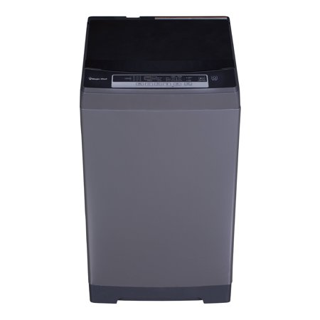 Magic Chef 1.6 cu.ft. Topload Compact Washer, Dark Gray