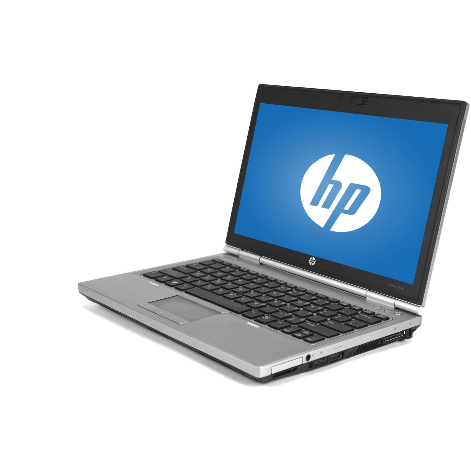 Refurbished HP Silver 12.5 EliteBook 2570P WA5 - 1123 Laptop PC with Intel Core i5 - 3320M Processor, 4GB Memory, 128GB Solid State Drive and Windows 10 Pro