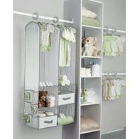 Delta Children 24-Piece Nursery Storage Set - Dove Gray