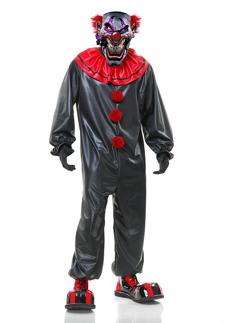 smokin joe evil clown adult costume - large - walmart