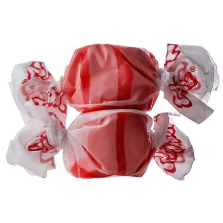 BAYSIDE CANDY SALT WATER TAFFY STRAWBERRY, 1LB](Salt Candy)