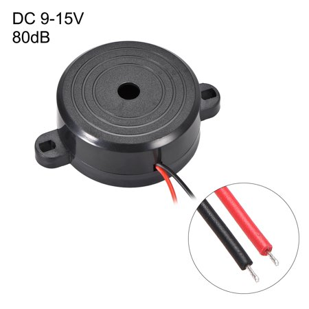 5 Pcs DC 9-15V Active Electronic Buzzer Alarm Piezo Sounder Continuous Beep - image 1 of 3
