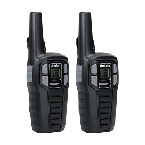 SX167-2CH 16-Mile 2-Way FRS/GMRS Radios (2 pk; With 6 batteries) - Uniden(R) SX167-2CH 16-Mile 2-Way FRS/GMRS Radios (2 pk; With 6 batteries