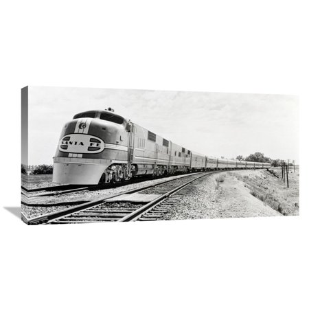 Canvas Santa Fe >> Global Gallery Philip Gendreau Santa Fe Super Chief Train 1938
