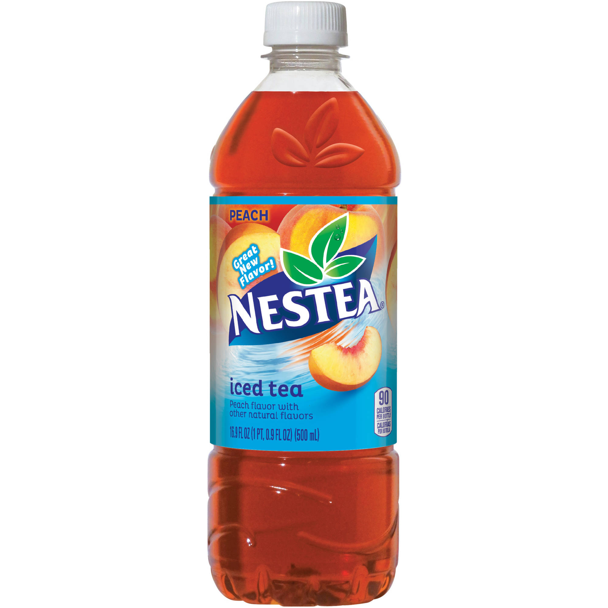 Nestea Peach Iced Tea, 16.9 fl oz, 24 pack