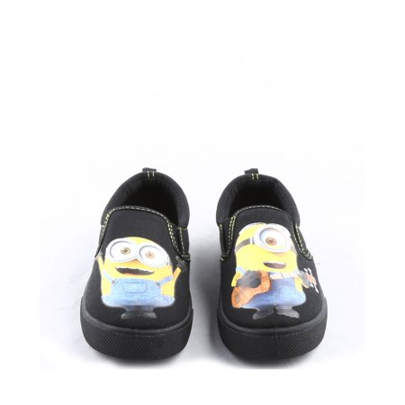 MINIONS TODDLER BOYS' CANVAS SNEAKERS - Cosplay Shops Near Me