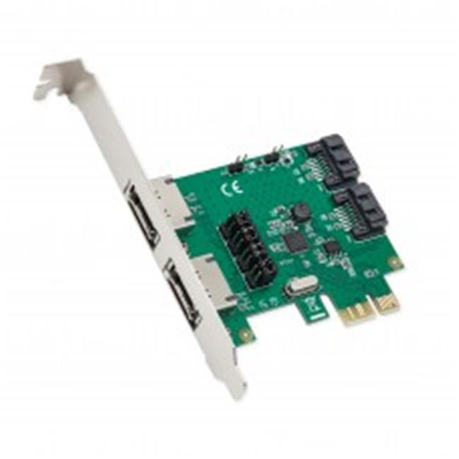 2 Port SATA III RAID PCI-E 2.0 x 1