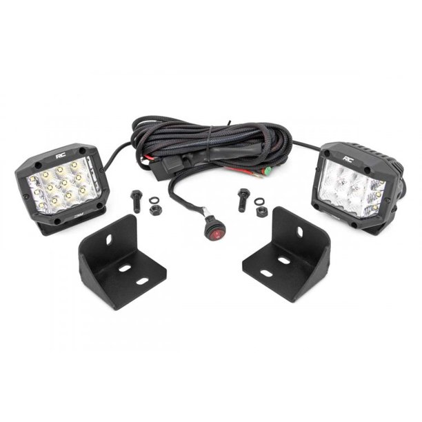 """Rough Country Rear 3"""" Cube LED Kit (fits) 2016-2021 CAN-AM ..."""