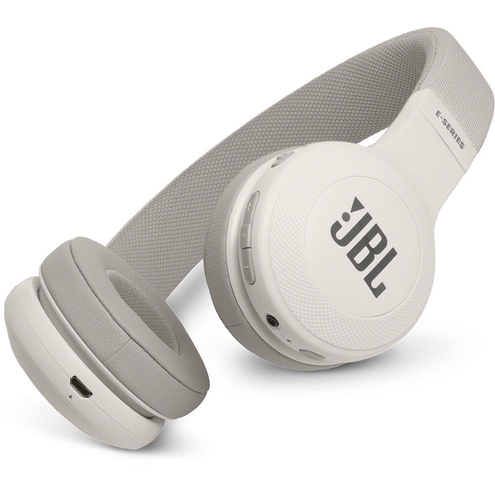 JBL E45BT Wireless On-Ear Headphones with One-Button Remote and Mic