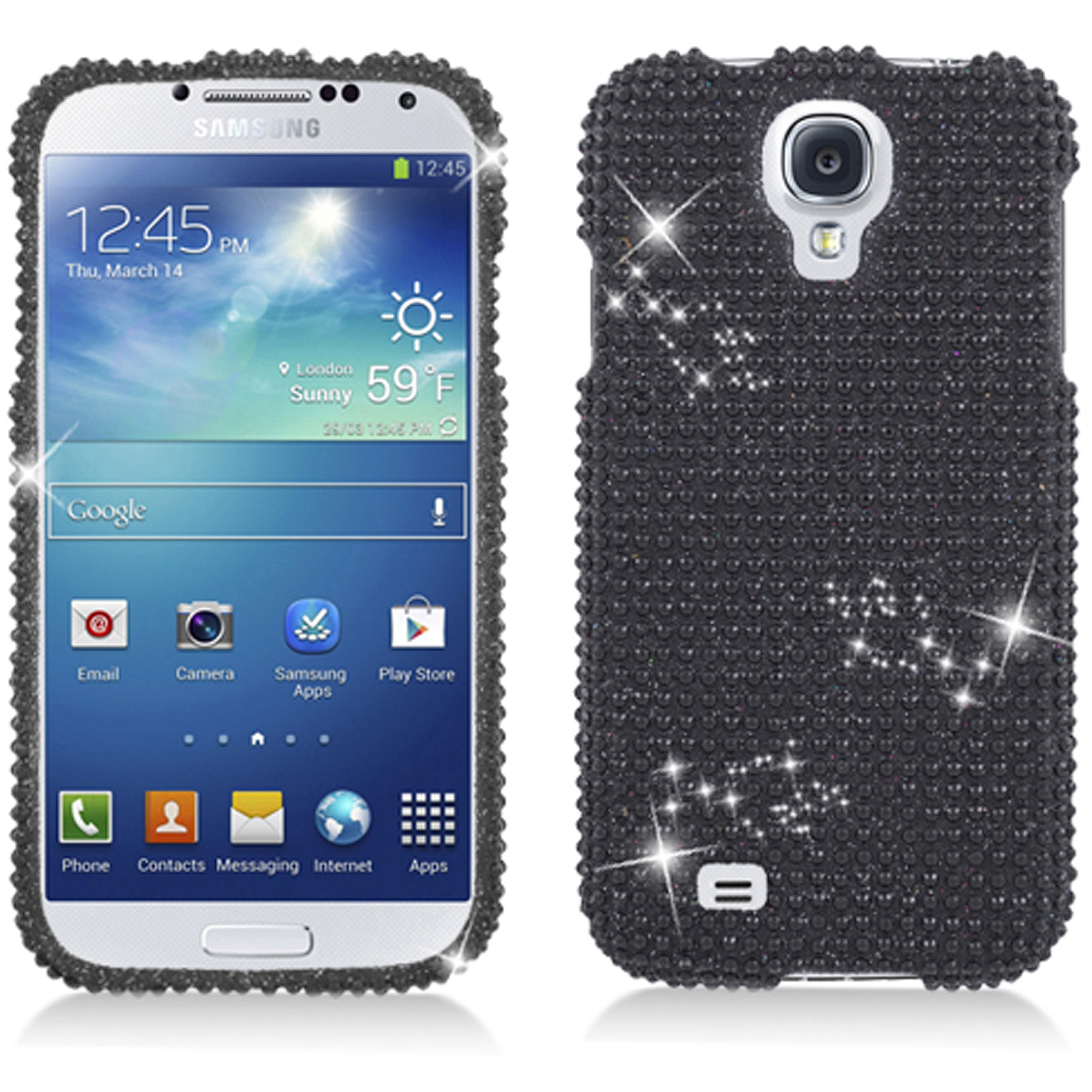 KTA Galaxy S4 Bling Rhinestone Cover