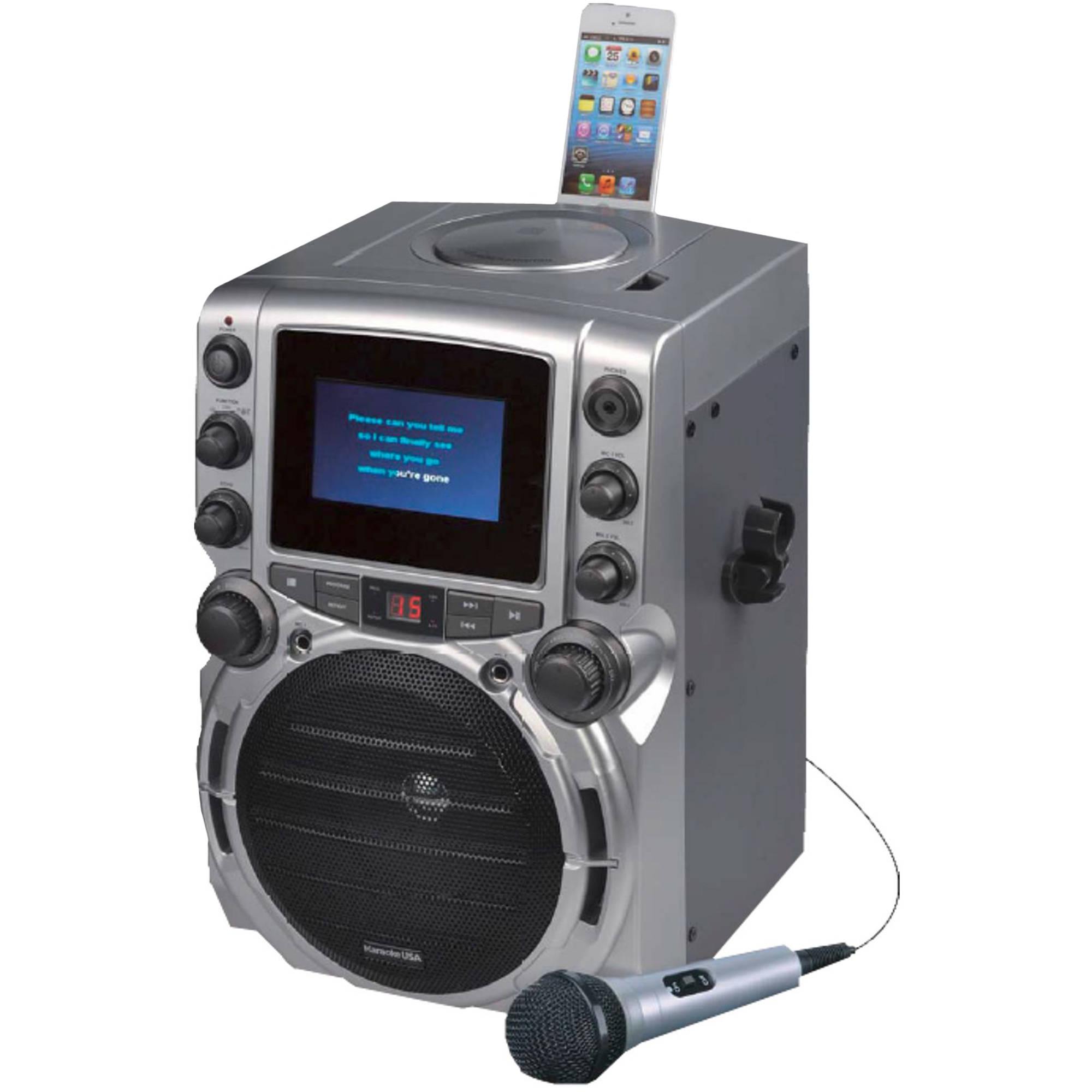 karaoke machine walmart usa