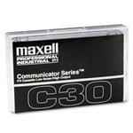 Maxell COM-30 Communicator Series Audio Cassette Audio Cassette Label Template