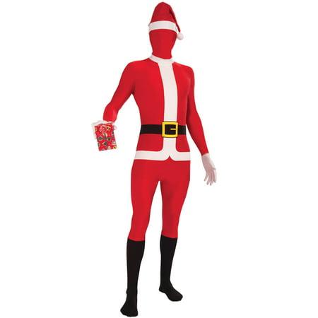 Santa Claus Skin Suit Adult Costume (STD)