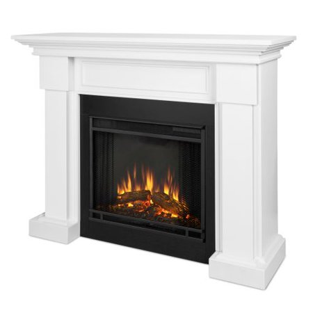 Hillcrest Indoor Electric Fireplace White