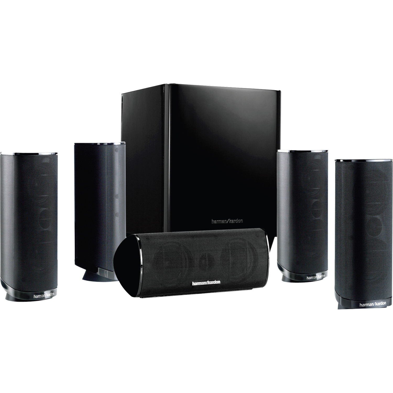 Harman Kardon HKTS 16 5.1-Channel Home Theater Speaker System Black