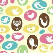 Secretly Designed Brids, Birds, Birds Paper Print