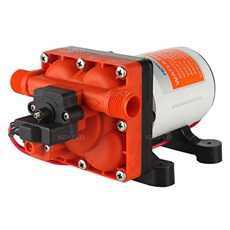Accelerator Pump Diaphragm (Seaflo 12V 3.0 GPM 55 PSI Water Pressure Diaphragm Pump with Internal Bypass Valve to reduce cycling )