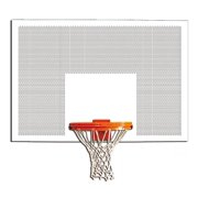 60 in. Perforated Steel Rectangular Backboard (Without Target and Border)