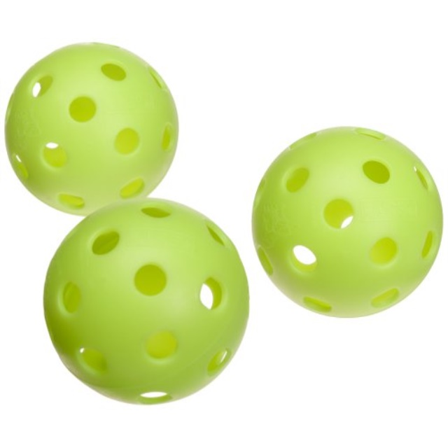Jugs Vision-Enhanced Green Poly Baseballs (One Dozen) by