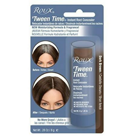 Roux Tween Time Instant Root Concealer Dark Brown, 1 (Best Roux In A Jar)