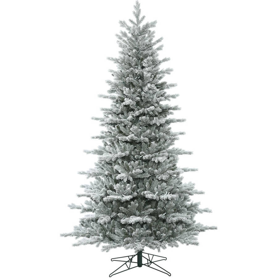 Vickerman 5.5' Frosted Eastern Frasier Fir Artificial Christmas Tree, Unlit