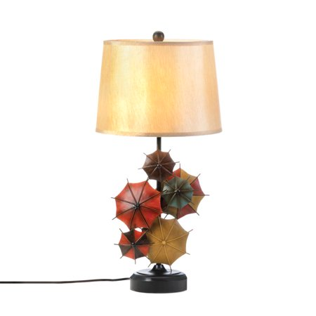 Modern Table Lamps, Iron Contemporary Desk Lamp Bedroom - Umbrellas Design